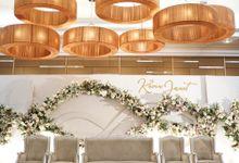Kevin & Janet Wedding At Santika Hotel Slipi by Fiori.Co