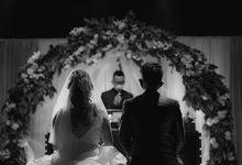 Intimate wedding chandra & lyana by Oscar Organizer