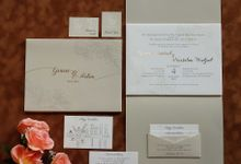 Gracie & Salim by Vinas Invitation