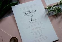 Albertus & Joan by Vinas Invitation