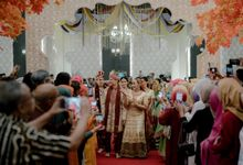 INDIA WEDDING RECEPTION OF DZAKI & RIMA by  Menara Mandiri by IKK Wedding (ex. Plaza Bapindo)