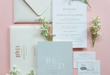 Bob & Dita by Vinas Invitation