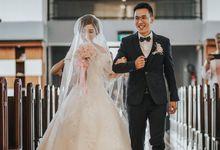 Hansen & Dewi Wedding Day Part II by Dfleur Photography