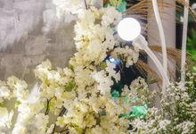 INTIMATE WEDDING CONCEPT by GLORIOSA DECORATION
