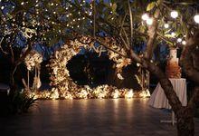 Kevin & Felicia Wedding At Summer Pool Swissotel by Fiori.Co