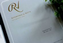 Raymond & Novi by Vinas Invitation