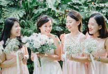 A Blush Pink Chinese Wedding in Amara Sentosa Singapore by Peach Frost Studio