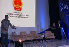 Indonesia Chinese Enterprise Information Development Forum by MC Mandarin Linda Lin