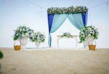 Marion & Vincent Wedding by Holiday Inn Resort Bali Benoa