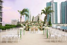 Outdoor Wedding at Holiday Inn & Suites Jakarta Gajah Mada by Holiday Inn & Suites Jakarta Gajah Mada