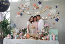 Melissa Koh Gender Reveal Party by Bloomwerks