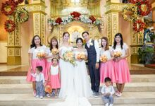 Peach Wedding - Marvin & Jejomarie 1.8.2018 by Icona Elements Inc. ( an Events Company, Wedding Planning & Photography )