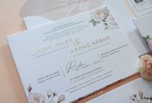 Lucita & Aswad by Vinas Invitation