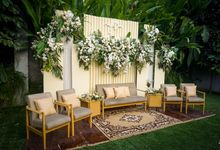 Intimate Wedding Taufik & Fida by Garis Decoration