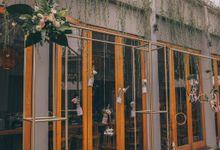 Tjendana Bistro | Intimate Sally & Hafidz by diskodiwedding
