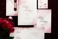 Hany & Frisca by Vinas Invitation