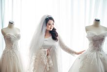 Love is a song that never ends ❤ by Gorgeous Bridal Jakarta