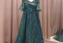 Emerald Organza a Line by iLook ( Makeup & Couture )