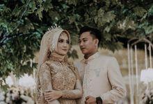 Rizka dan Angga Wedding by renjaa photography