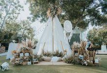 Steffy and Temi Wedding Decoration by Fuchsia Bali by KAMAYA BALI