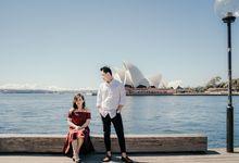 Sussie Prewedding in SYDNEY AUSTRALIA by Soulmate Bridal Make Up