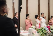 Raffles Jakarta 30 Pax Intimate Dinner Gusto & Monica by diskodiwedding