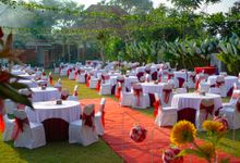 Platinum Package Garden Dinner Reception Table Set by Taman Prakerti Bhuana