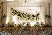 Inez & Indra Wedding At The Hermitage Hotel by Fiori.Co