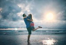 Prewedding at Tanjung Lesung of Nena & Navy by GoFotoVideo