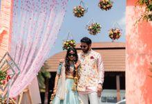 Nidhi & Sopan Wedding decoration by Nuptials by Priyanka Pandey