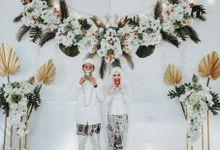 Wedding Courtesy of Stefani and Farhan by Layung Studio