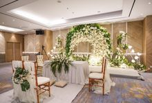 THE WEDDING OF M & S by GLORIOSA DECORATION