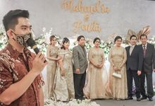 Engagement of MAHENDRA & FENITA by Aldo Adela MC & Magician