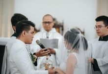 Pemberkatan Oswald & Angel at Gereja Santo Laurensius by GoFotoVideo