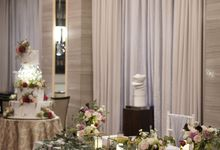 Andy & Vivian Wedding At Fairmont Hotel by Fiori.Co