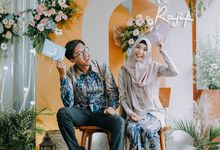 Ima & Rajif Engangement by Wedding by Flo