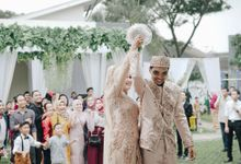 bridal hijab by Aisya Argubi