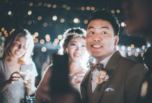 Outdoor Wedding of Oswald & Angel at Arya Duta Lippo Village by GoFotoVideo