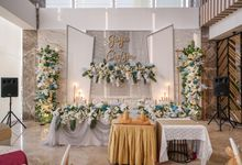 THE WEDDING OF J & C by GLORIOSA DECORATION