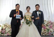 Wedding of Steven & Devy by JIMMY & LIECHEN MC and Magician Wedding Specialist