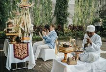 Elisa and David Balinese Blessing Ceremony by Happy Bali Wedding