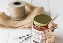Wedding Souvenir - Honey in the Jar 45ml by Kanoo Paper & Gift