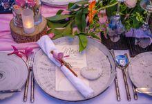 Kayumanis Beach Dinner Reception Pink Theme by Kayumanis Sanur Private Villa & Spa