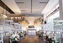 Leonard & Steffy Wedding At Wyls Kitchen by Fiori.Co