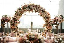 Edward & Silvia Wedding At La Seine by Fiori.Co