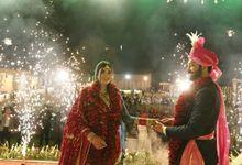 Saloni's wedding by jssmakeovers