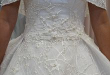 Wedding gown fitting session by iLook ( Makeup & Couture )