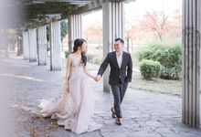 Prewedding of Ryan & Stella - Japan Autumn by Écru Pictures