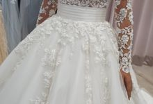 long Sleeve clasic wedding Ballgown by iLook ( Makeup & Couture )