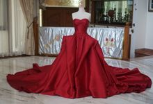 Red Big Ballgown by iLook ( Makeup & Couture )